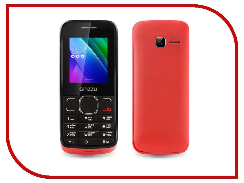 Сотовый телефон Ginzzu M101 DUAL mini Red