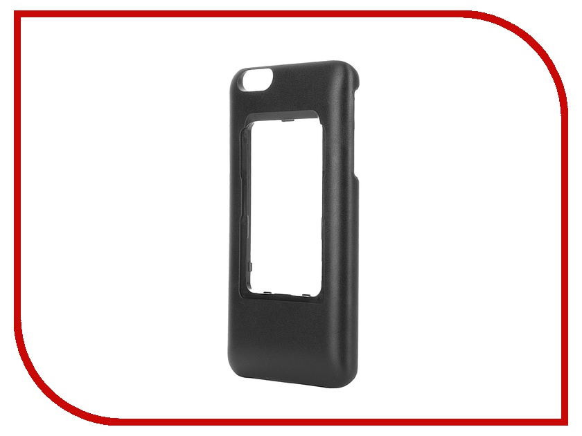 Аксессуар Чехол Elari для Elari Cardphone и iPhone 6 Plus Black<br>