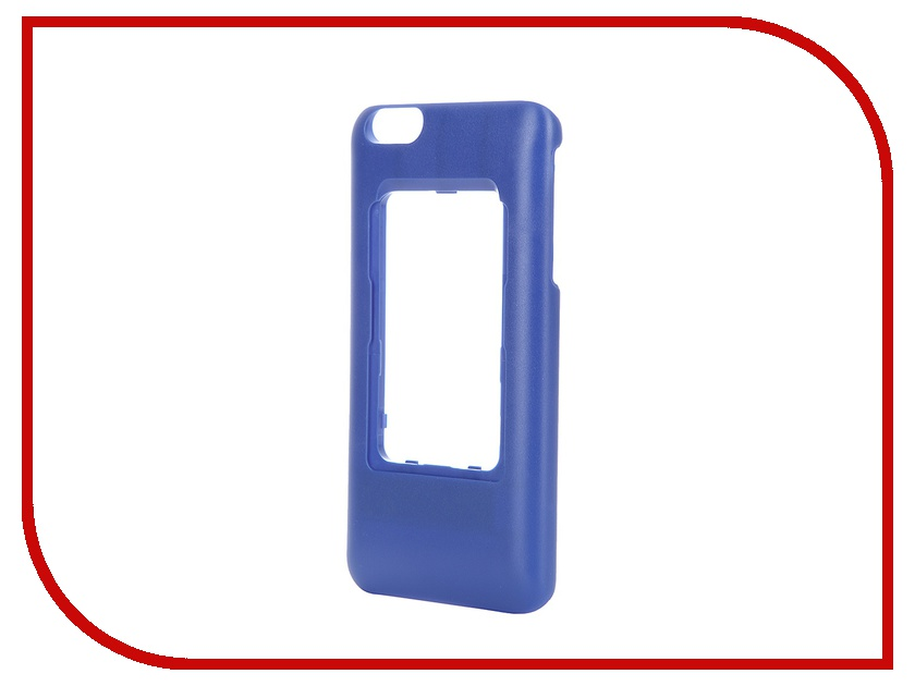 Аксессуар Чехол Elari для Elari Cardphone и iPhone 6 Plus Blue аксессуар чехол elari для elari cardphone и iphone 6 plus blue