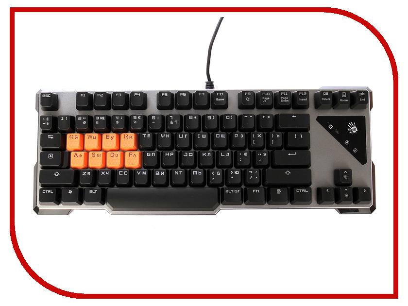 Клавиатура A4Tech Bloody B700 Black USB клавиатура a4tech bloody b418 usb