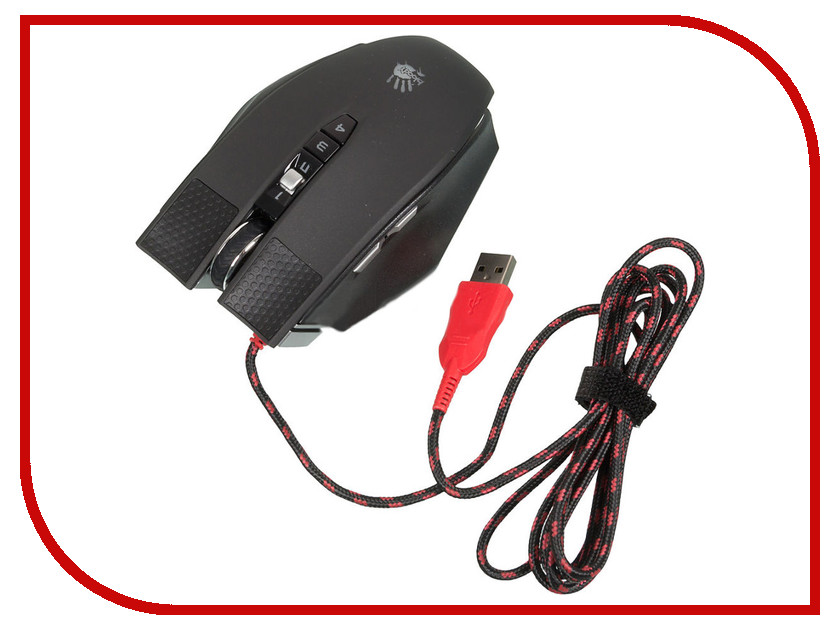 Мышь проводная A4Tech Bloody Terminator TL90 Black-Grey USB<br>