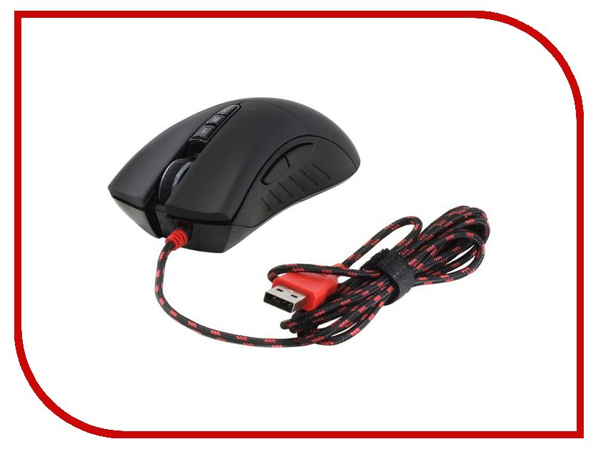 Мышь проводная A4Tech Bloody V3M Black USB<br>