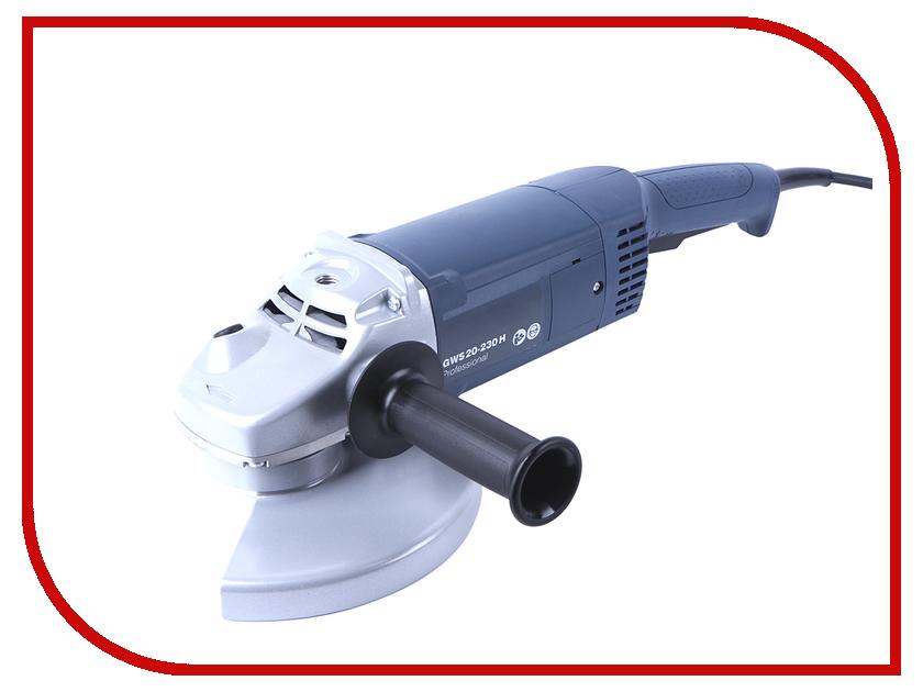 Шлифовальная машина Bosch GWS 20-230 H 0601850107 угловая шлифовальная машина bosch gws 20 230 h 0 601 850 107