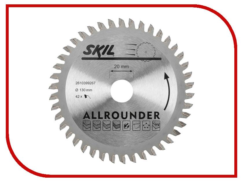 Диск Skil 2610399267 пильный, по дереву, 130x20mm<br>