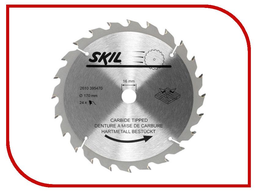 Диск Skil 2610395470 пильный, по дереву, 170x16mm<br>