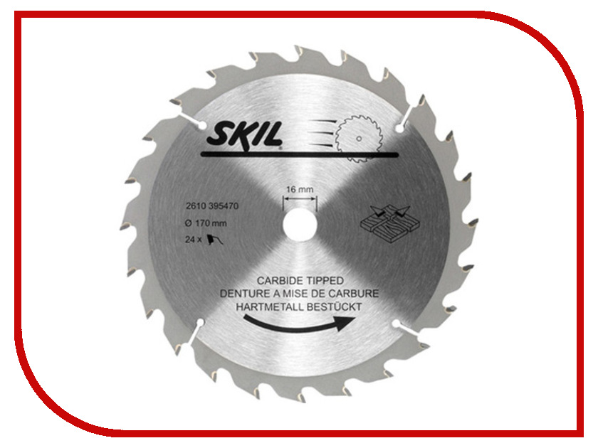 ���� Skil 2610395470 �������, �� ������, 170x16mm