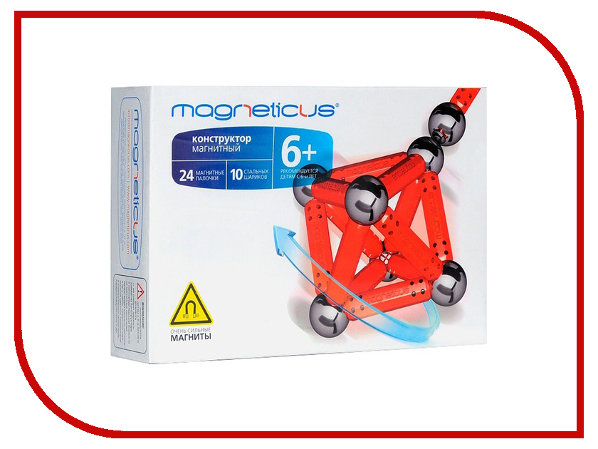 Игрушка Magneticus МК-0034 Red<br>