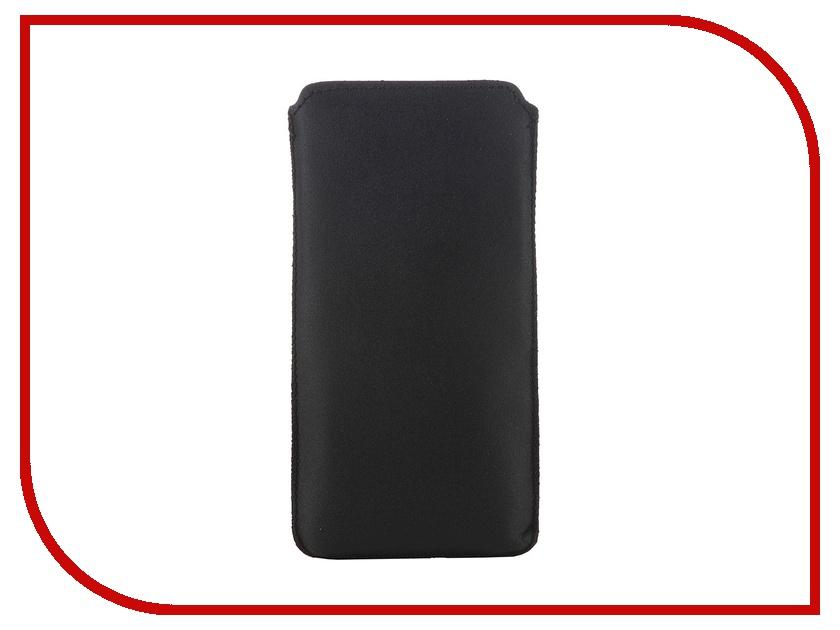 Аксессуар Чехол Good Egg для iPhone 5S кожа Black<br>