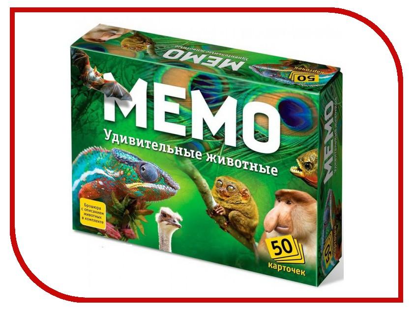 Настольная игра Ranok Creative Мемо Удивительные животные 7207 настольная игра tactic мемо дикие животные 2 41441