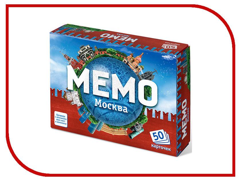 Настольная игра Ranok Creative Мемо Москва 7205 нескучные игры обучающая игра мемо москва