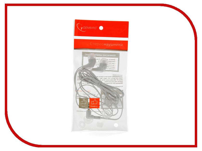Наушники Gembird MP3-EP14W White