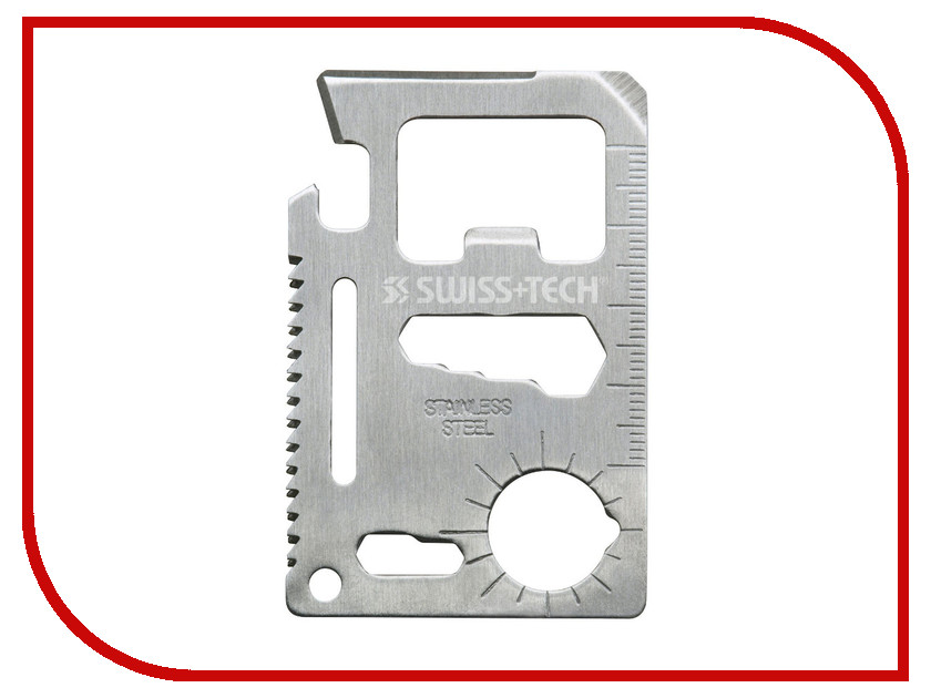 Мультитул SwissTech Credit Card Multi-Tool ST33309<br>