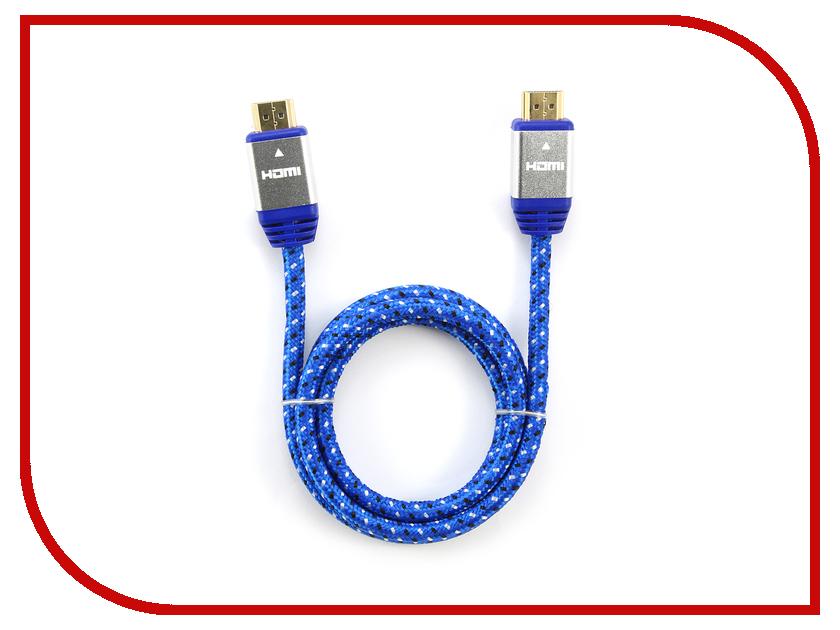 Аксессуар Konoos HDMI 19M 1m v1.4 Blue KCP-HDMInbl<br>