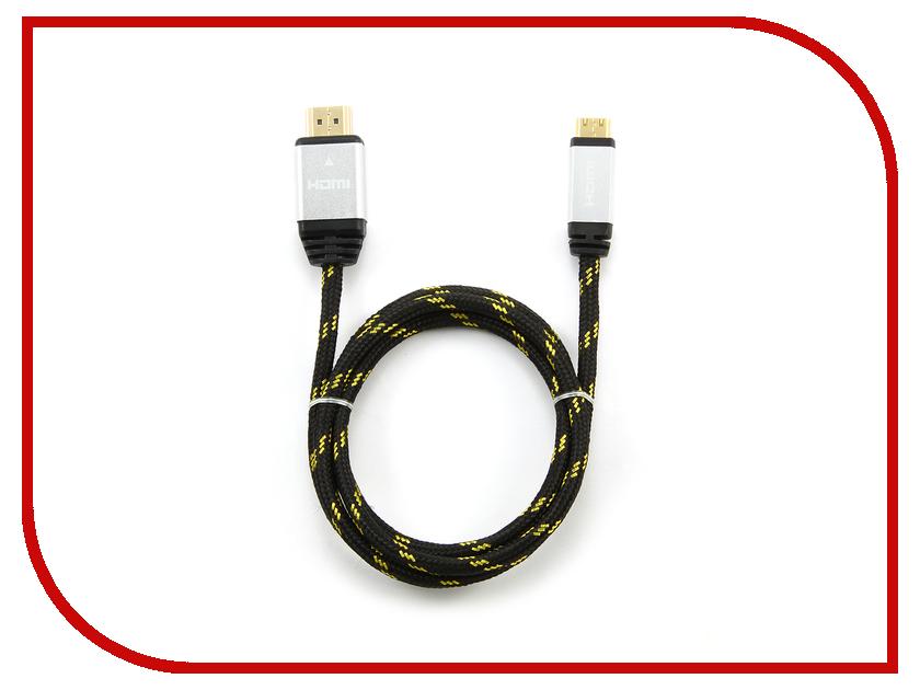 ��������� Konoos HDMI 19M - Mini HDMI 19M 1m v1.4 Black KCP-HDMICnbk