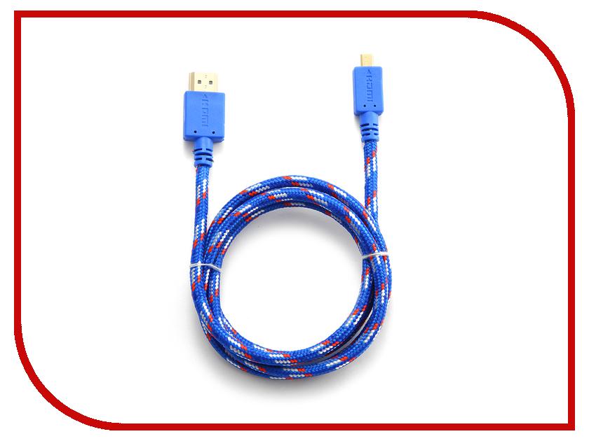Аксессуар Konoos HDMI 19M - Micro HDMI 19M 1m v1.4 KC-HDMIDnbrw