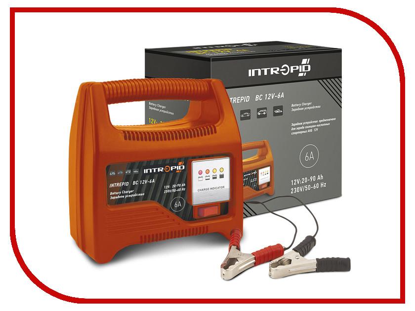 Зарядное устройство для автомобильных аккумуляторов Intrepid BC 12V-6A 01.54.068<br>