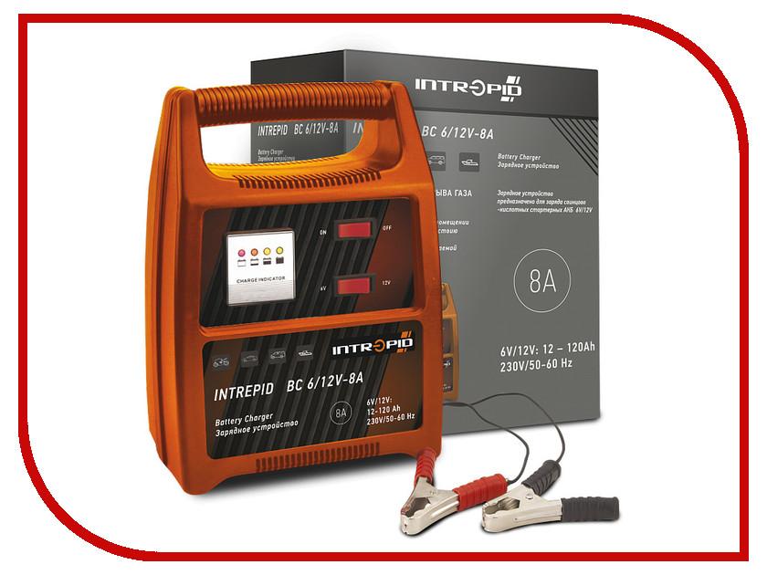 Зарядное устройство для автомобильных аккумуляторов Intrepid BC 6/12V-8A 01.54.088<br>
