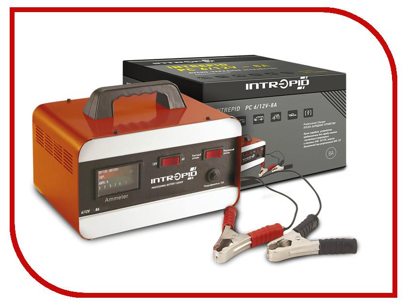 Зарядное устройство для автомобильных аккумуляторов Intrepid PC 6/12V-8A 01.54.084