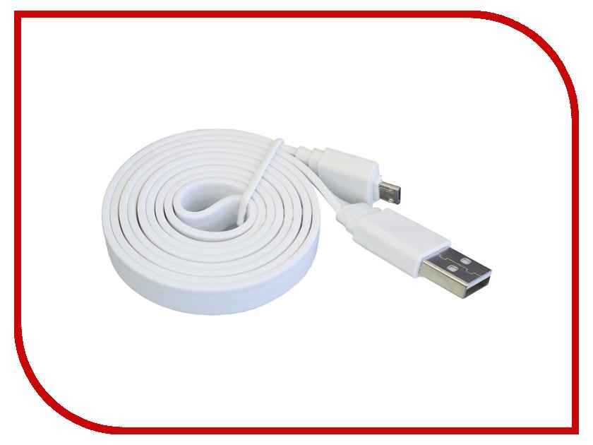 Аксессуар Pro Legend micro-USB 1m PL1312 White<br>