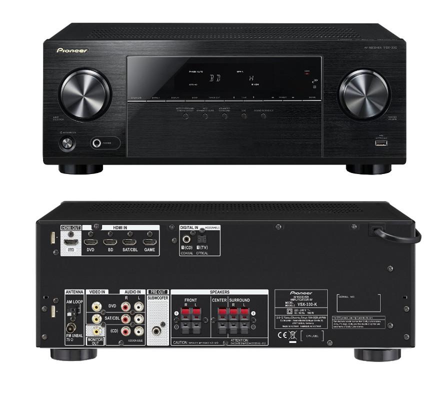 цена на Ресивер Pioneer VSX-330-K