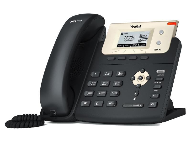 VoIP оборудование Yealink SIP-T21P E2