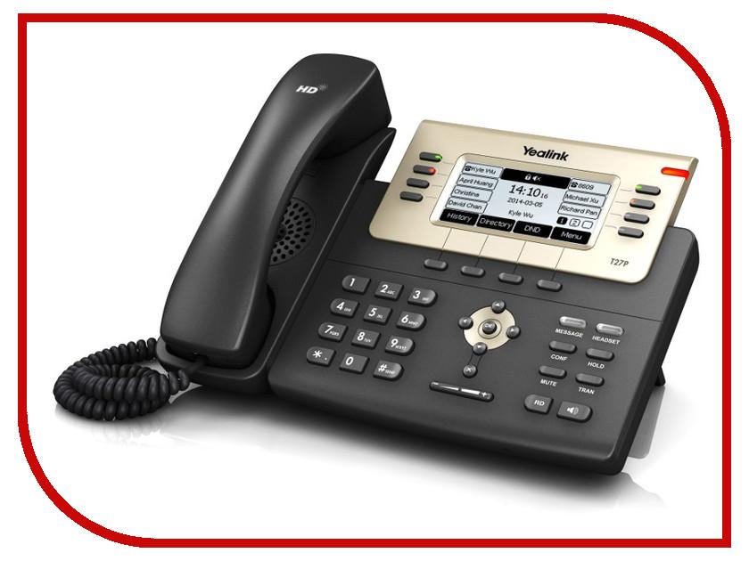 VoIP оборудование Yealink SIP-T27P