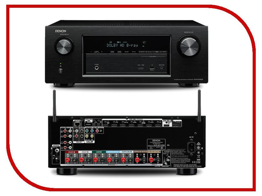 Ресивер Denon AVR-X2100W BL