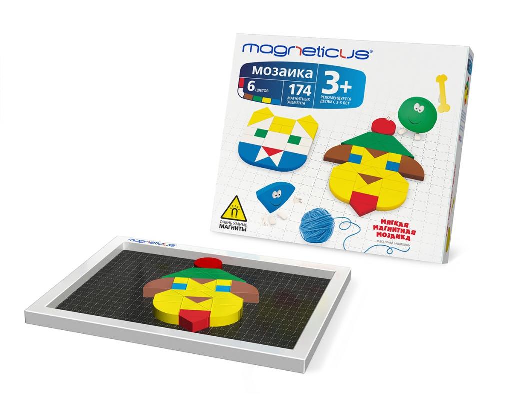 Настольная игра Magneticus Мозаика ММ-0174<br>