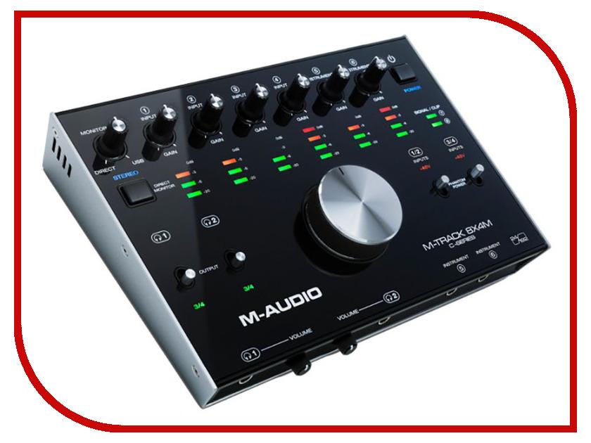 Аудиоинтерфейс M-Audio M-Track 8x4M m audio bx8 carbon