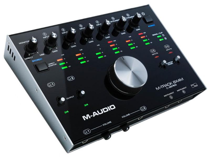Аудиоинтерфейс M-Audio M-Track 8x4M цена