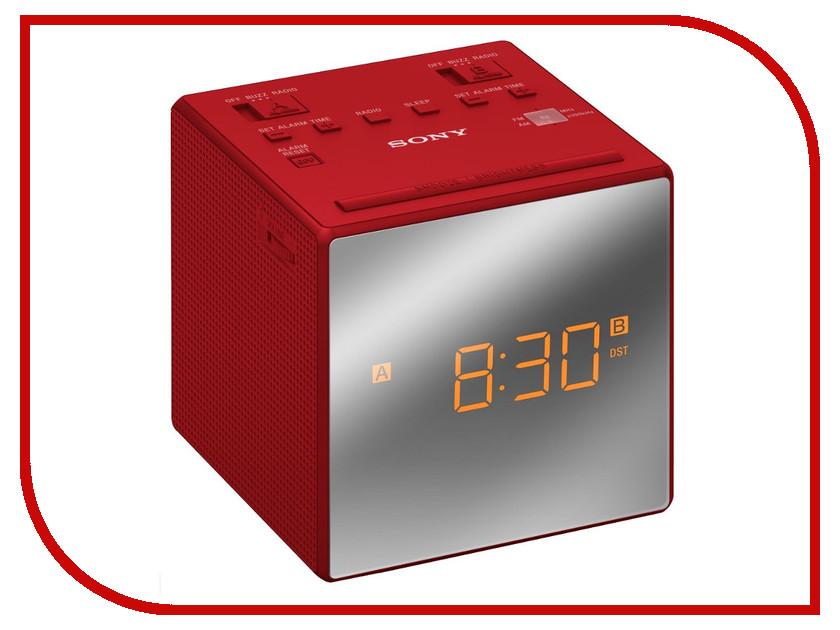 Часы Sony ICF-C1T Red sony icf ds15ip
