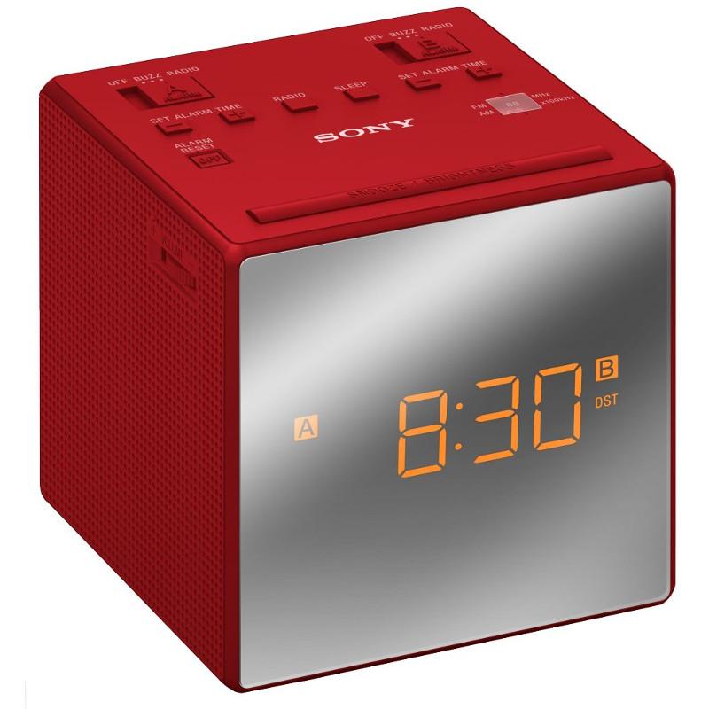 Часы Sony ICF-C1T Red радиоприемник sony icf s80 белый