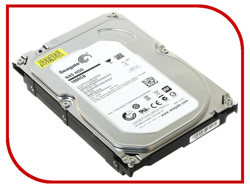 Жесткий диск 1Tb - Seagate Enterprise NAS ST1000VN000<br>