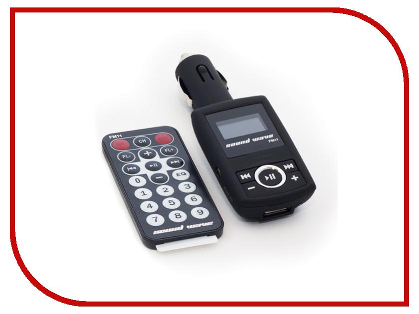 FM-Трансмиттер Sound Wave FM11 101477st