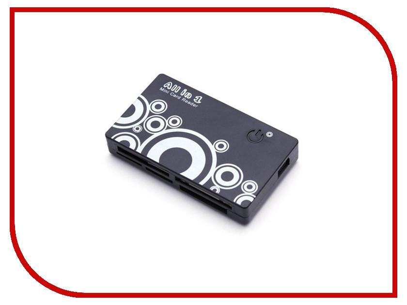 Карт-ридер Deluxe DCR001BK 100349st