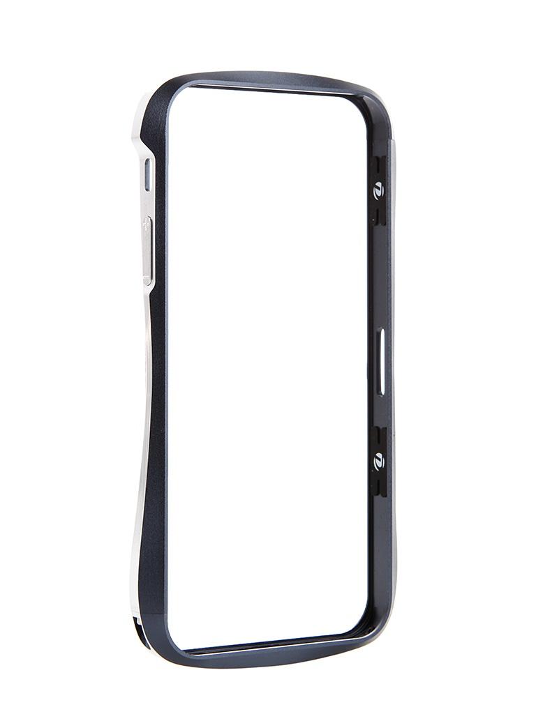 Аксессуар Чехол-бампер Ainy для iPhone 6 Silver QC-A001Q
