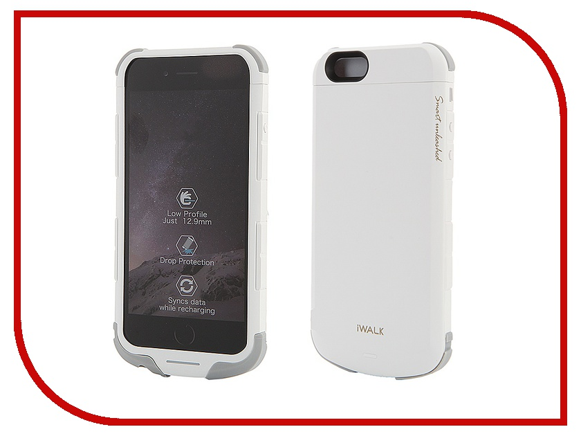 Аксессуар iWalk Chameleon Immortal i6 100144st White<br>