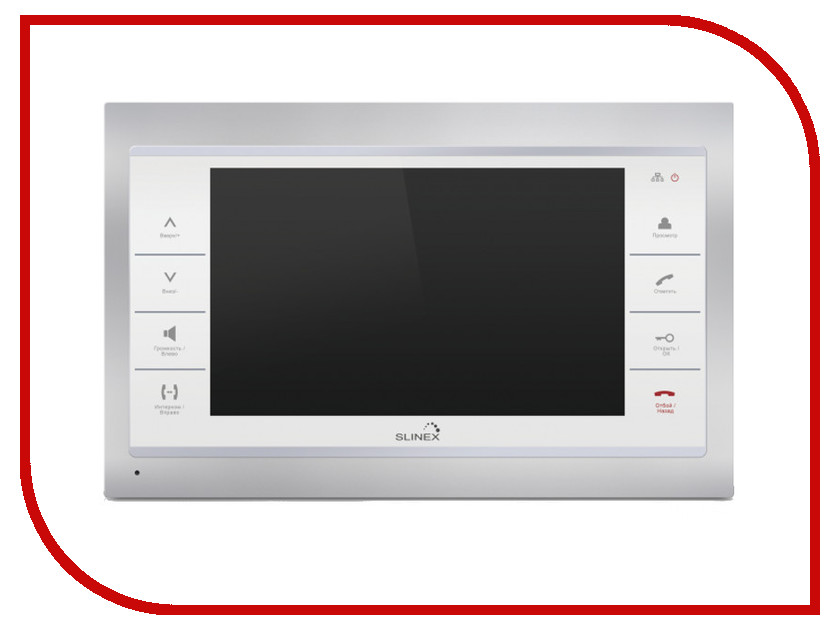 Видеодомофон Slinex SL-10IP Silver-White<br>