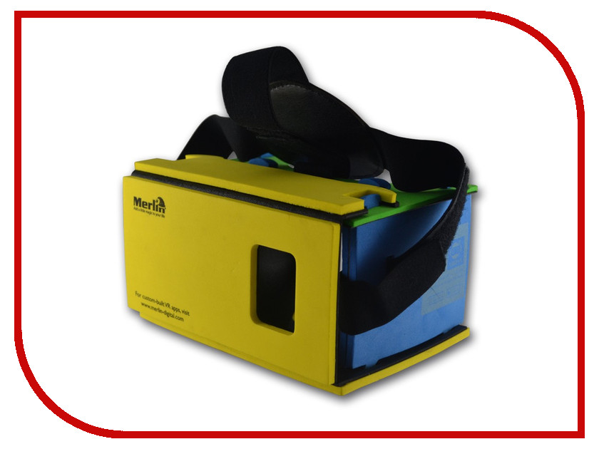 все цены на  Очки виртуальной реальности Merlin VR Immersive 3D Lite  онлайн