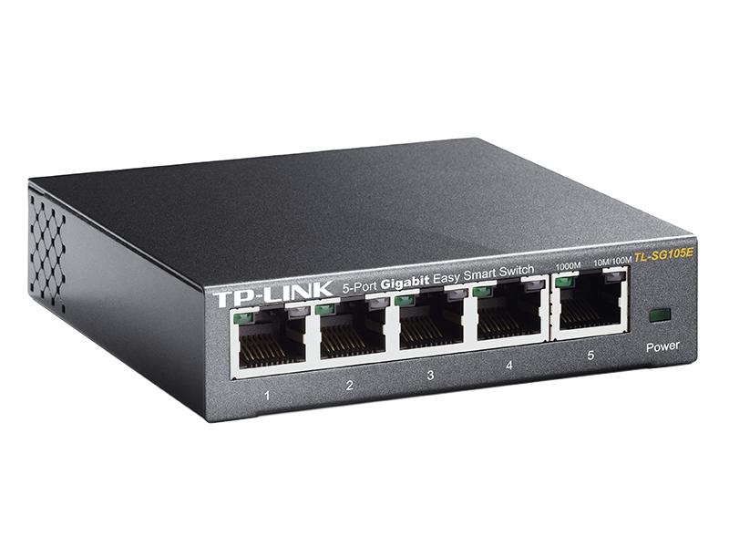 Коммутатор TP-LINK TL-SG105E кабель tp link tl ant200pt черный 50 см