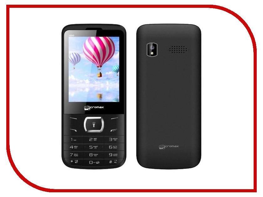 Сотовый телефон Micromax X800 Black