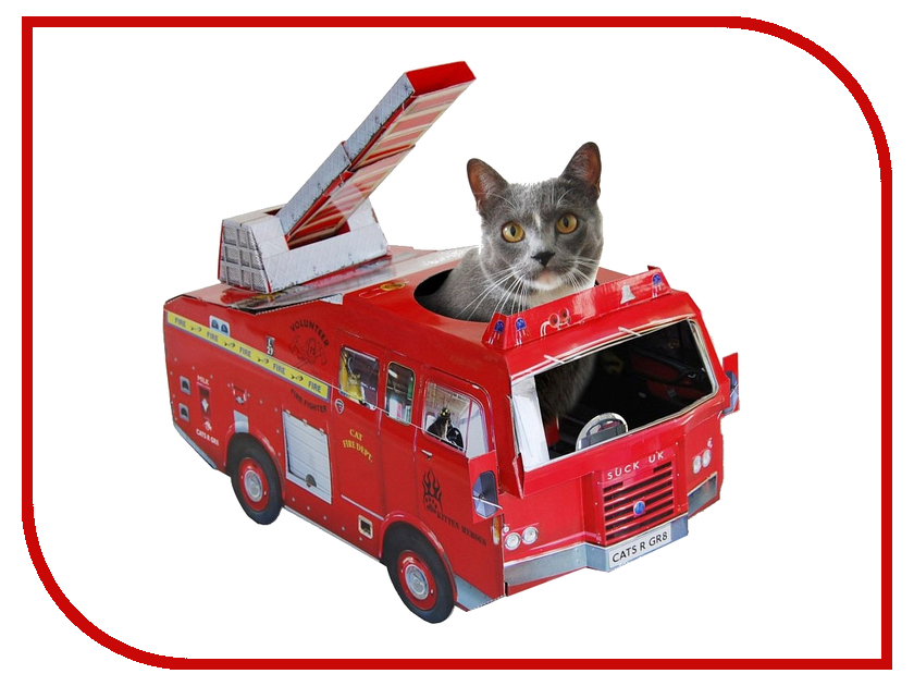 Игрушка Suck UK Fire Engine SK CARDCATPLAY1 для кошек