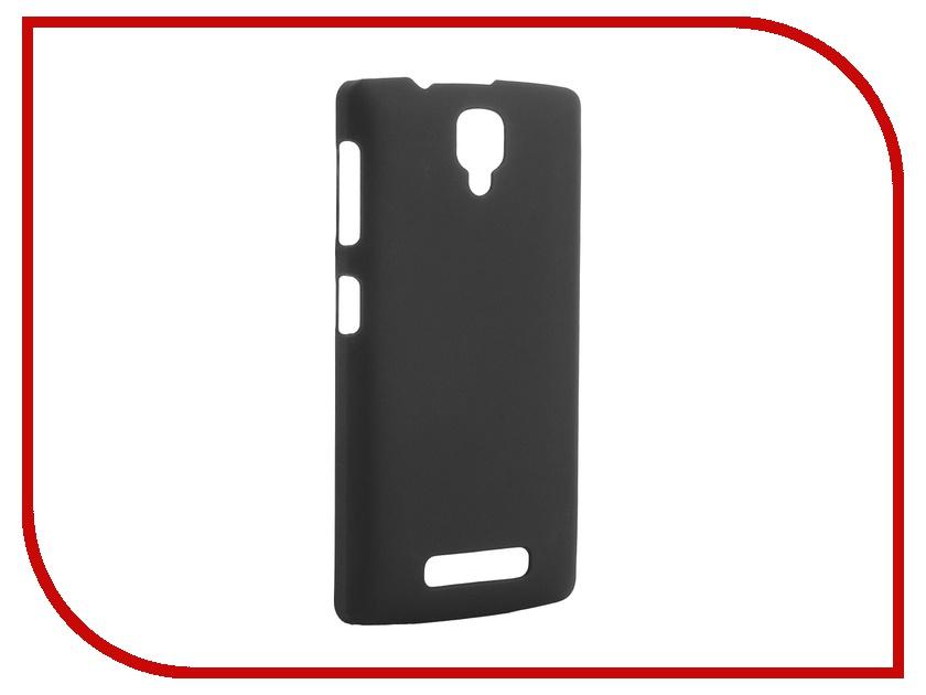 Аксессуар Чехол-накладка Lenovo A1000 Pulsar Clipcase PC Soft-Touch Black PCC0174<br>