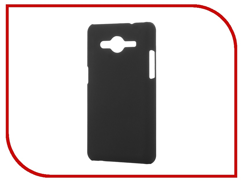 Аксессуар Чехол-накладка Pulsar for Samsung Core 2 Duos G355H/DS Clipcase PC Soft-Touch Black PCC0180<br>