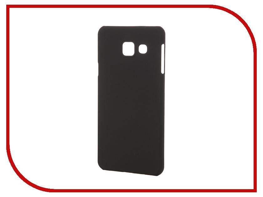 Аксессуар Чехол-накладка Samsung Galaxy A3 2016 Pulsar Clipcase PC Soft-Touch Black PCC0177<br>