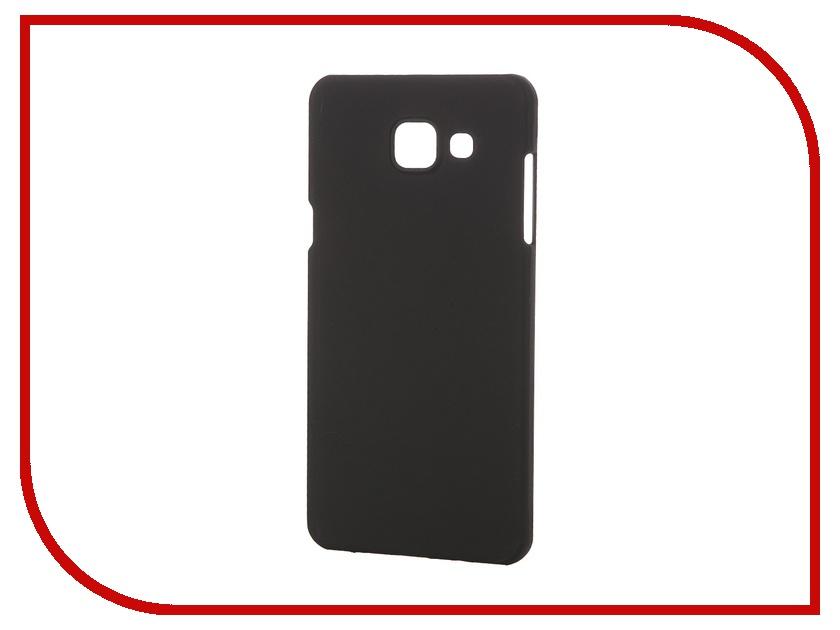 Аксессуар Чехол-накладка Samsung Galaxy A5 2016 Pulsar Clipcase PC Soft-Touch Black PCC0178<br>