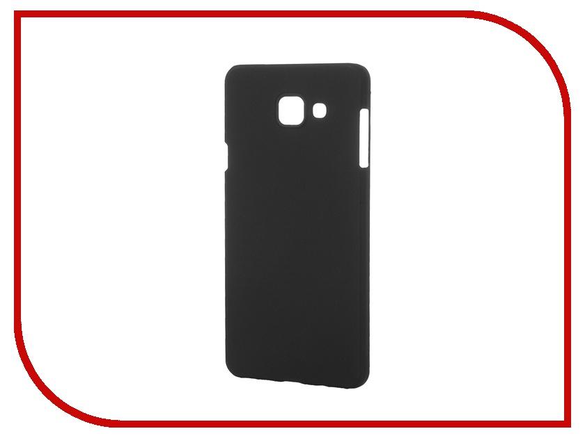 Аксессуар Чехол-накладка Galaxy A7 2016 Pulsar Clipcase PC Soft-Touch Black PCC0179
