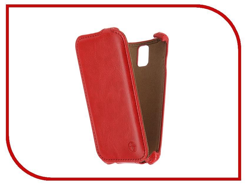 Аксессуар Чехол Lenovo A1000 Pulsar Shellcase Red PSC0847<br>