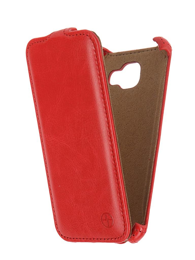 Аксессуар Чехол Samsung Galaxy A3 2016 Pulsar Shellcase Red PSC0856<br>