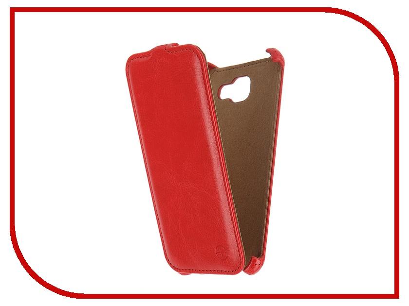 Аксессуар Чехол Samsung Galaxy A5 2016 Pulsar Shellcase Red PSC0858<br>